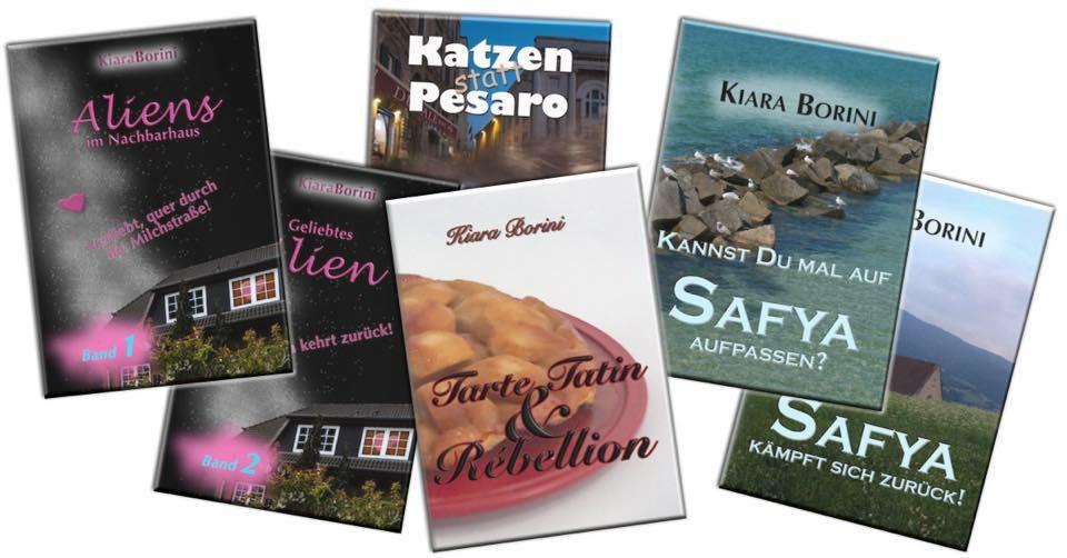 Bild mit mehreren Büchern von Kiara Borini