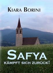 Titelseite vom zweiten Band von Safya